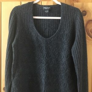 Lord & Taylor cashmere v-neck sweater.